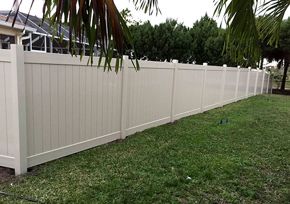 Port Charlotte Fence Option 1