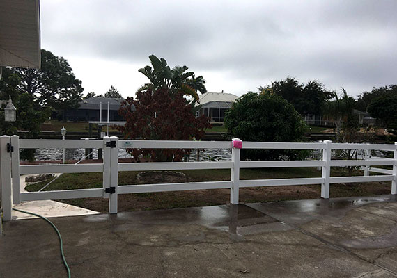 Port Charlotte Fence Option 3