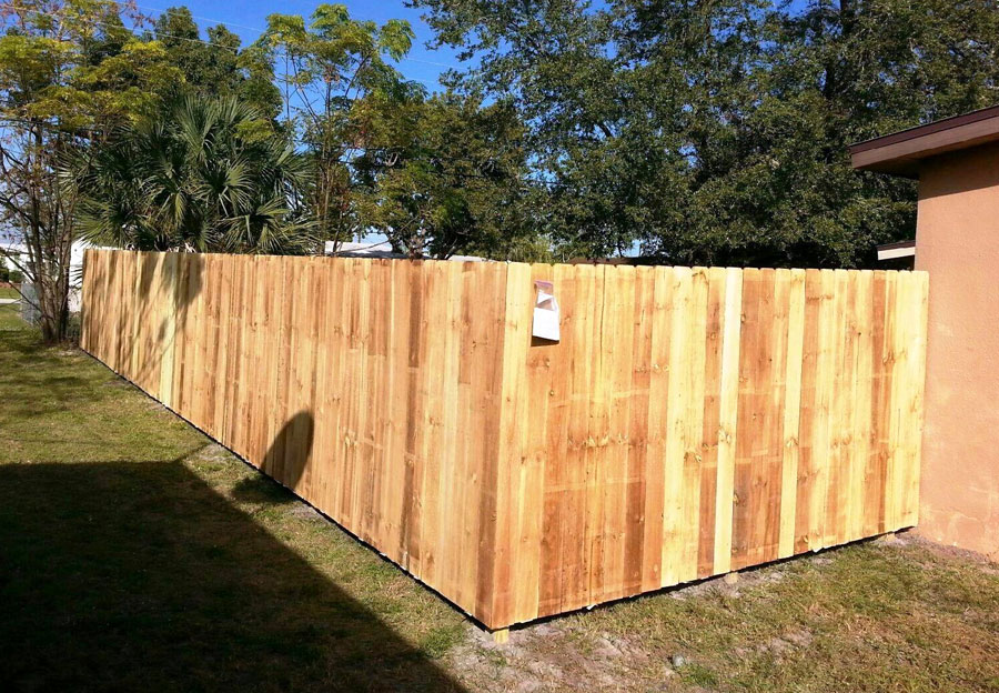 Wood Fencing 3