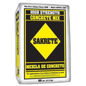 Concrete 60 lb Bag